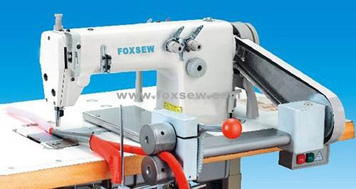 High Speed Double Needle Chain Stitch Folding Machine