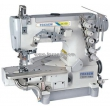 Cylinder Bed Interlock Sewing Machine for Hemming Sewing with Side Trimmer