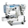 High Speed Cylinder Bed Interlock Sewing Machine for Tape Binding