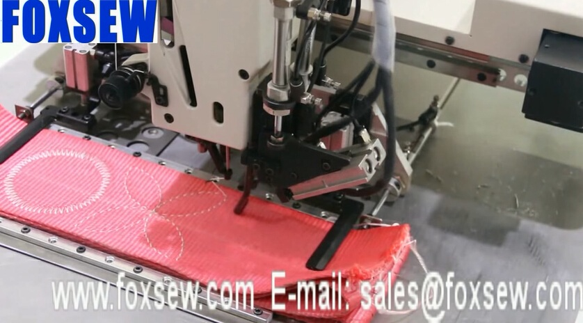 Extra Heavy Duty Programmable Electronic Pattern Sewing Machine for Webbings